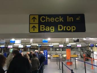 Check In - Bag Drop